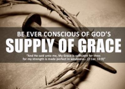 Supply of Grace