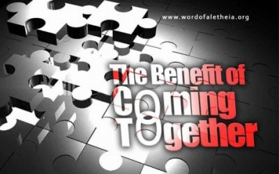 The Benefit of Coming Together