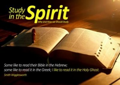 Study in the Spirit